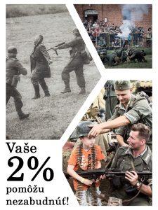 2% z dane , občianske združenia, klub vojenskej histórie Prašník